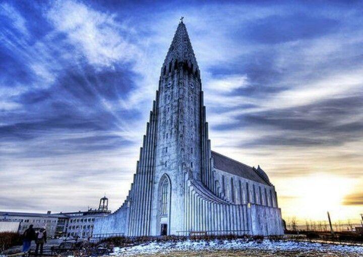 Catedral Hallgrimskirkja, Reikiavik, Islandia