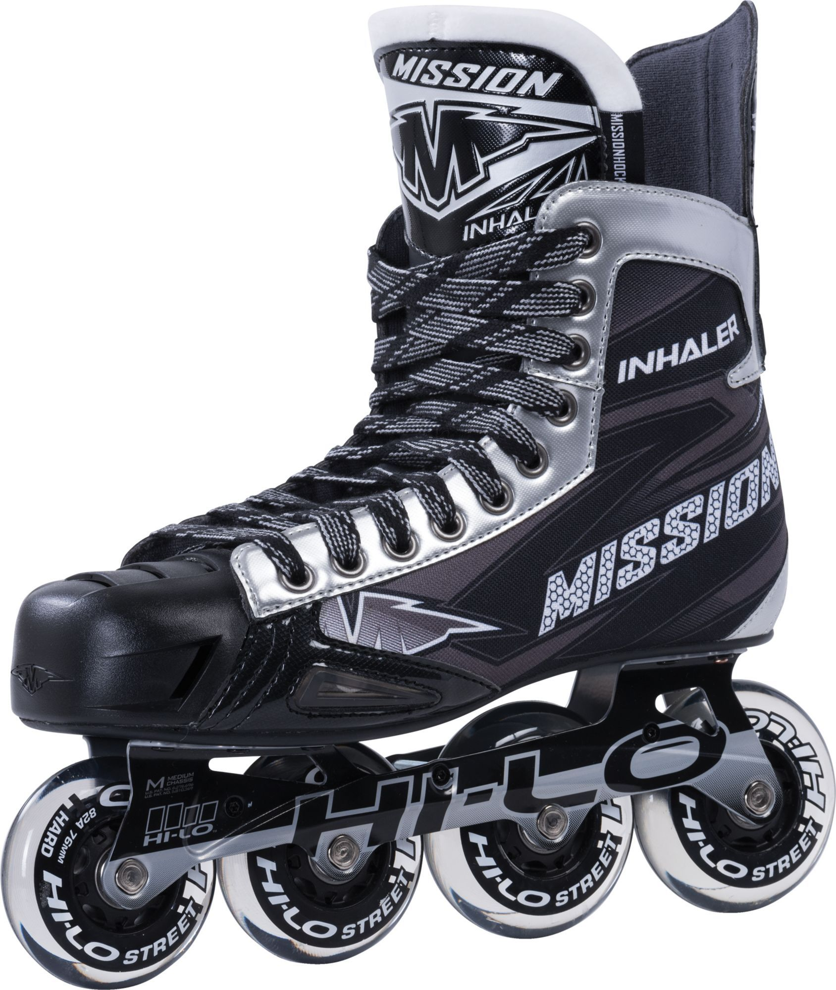Mission Junior Inhaler Nls6 Roller Hockey Skates Kids Unisex Size 4 In 2020 Roller Hockey Skates Inline Hockey New Skate