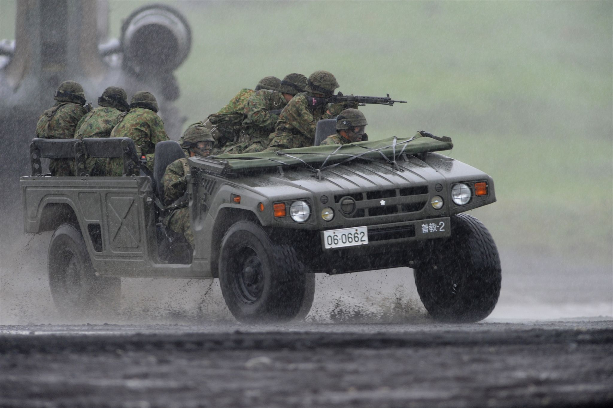 Japanese Toyota high mobility vehicle [2048 x 1363] | Military ...