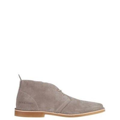 Mens Boots Suede Jack Jones Leather Jj Gobi Desert Cognac Men Shoes