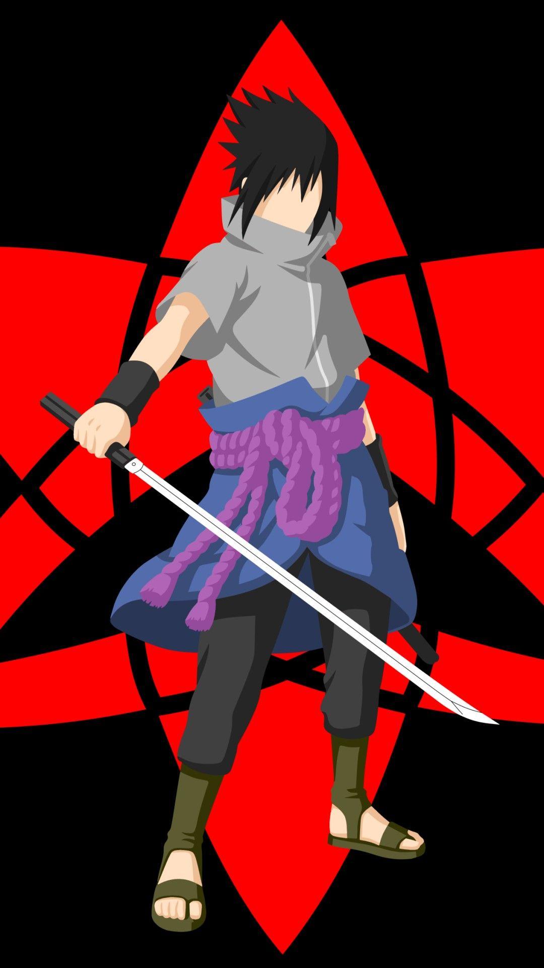 Wallpaper Phone Sasuke Full Hd Naruto Mobile Anime Anime Artwork Wallpaper