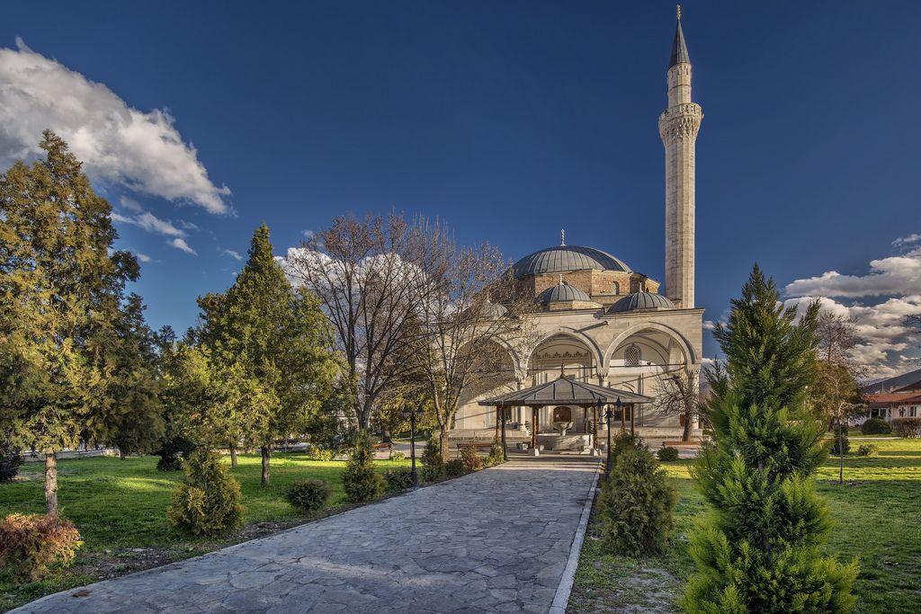 Mustafa Pasha mosque in Skopje, Macedonia | Skopje, Macedonia, Around the worlds