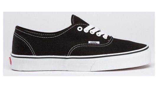 Vans schoenen zwart authentieke klassieke doek van de Dames ...