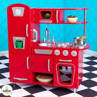 Vintage Kitchen Set Kidkraft Vintage Kitchen Pretend Play