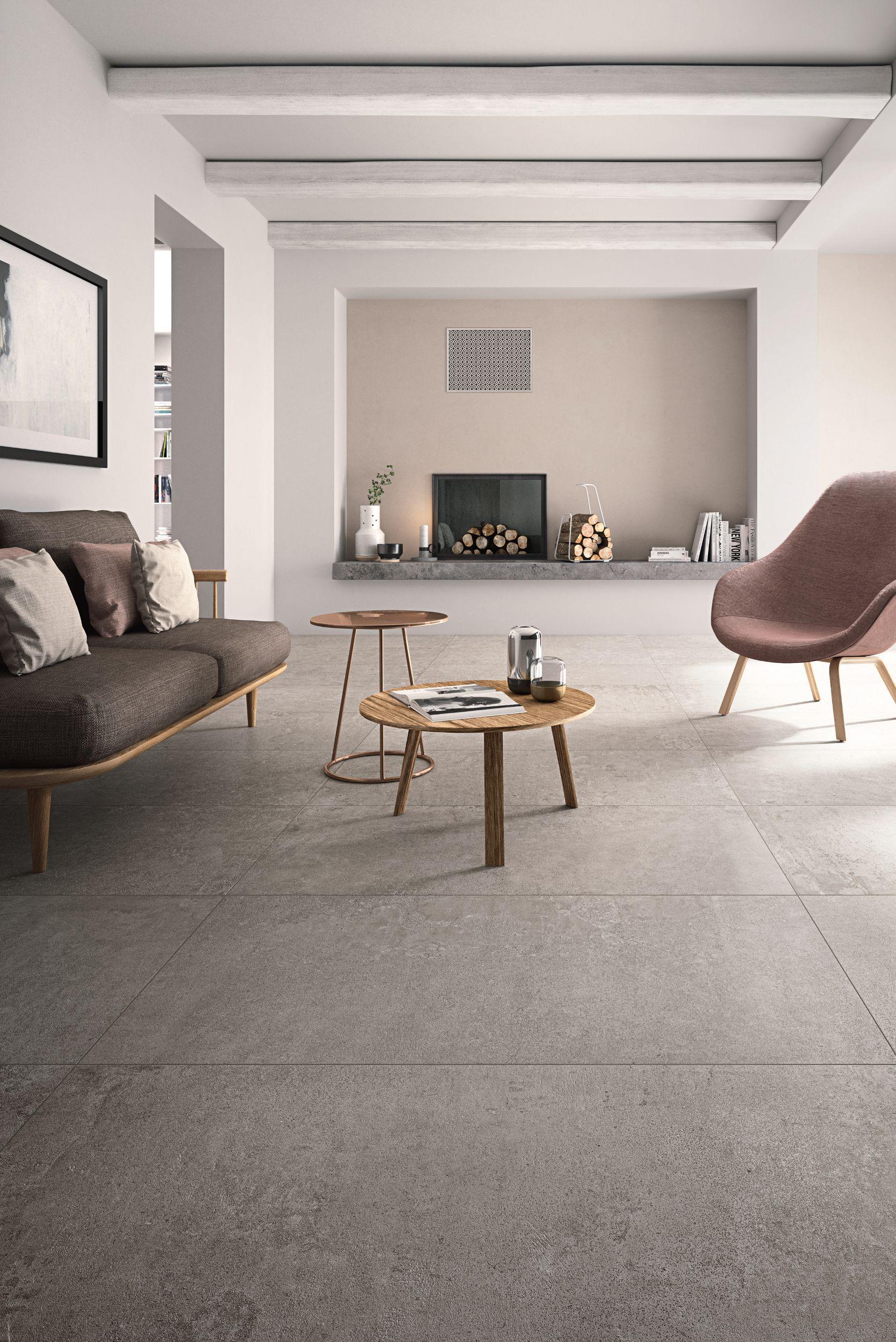 Pavimenti Per Cucina E Soggiorno.Pavimento Rivestimento In Gres Porcellanato Effetto Cemento