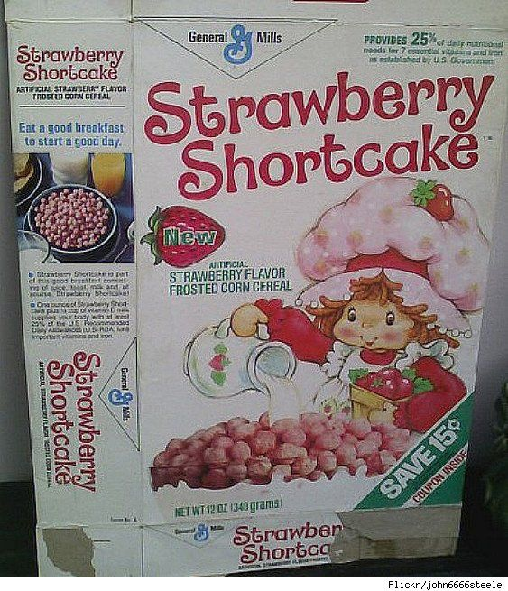No, I didn't have the doll but I did eat the cereal. Very tasty. Like Franken Berry.