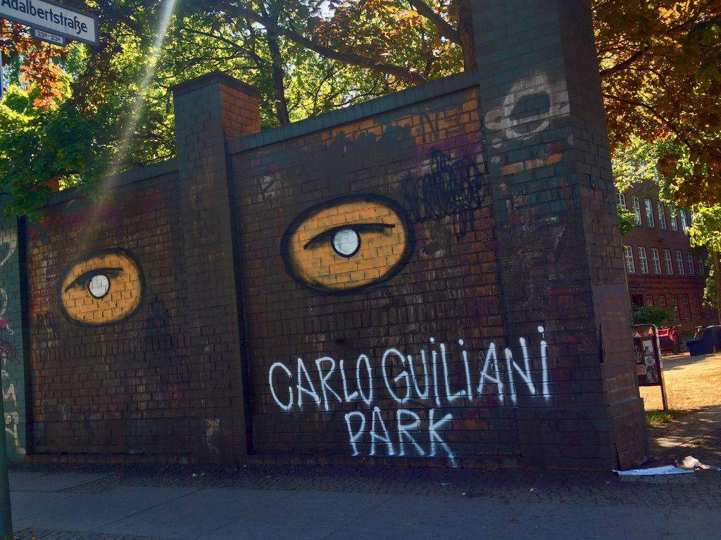 Carlo Giuliani Park 2014 by seven_resist