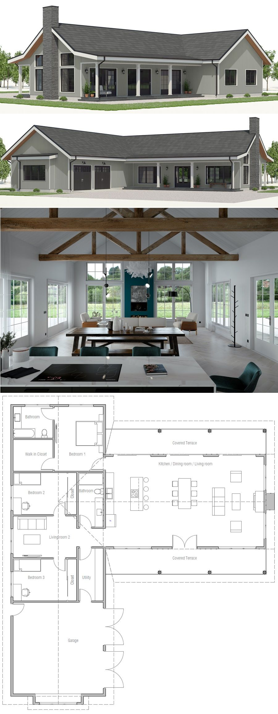 House plan ch also best home design images in rh pinterest