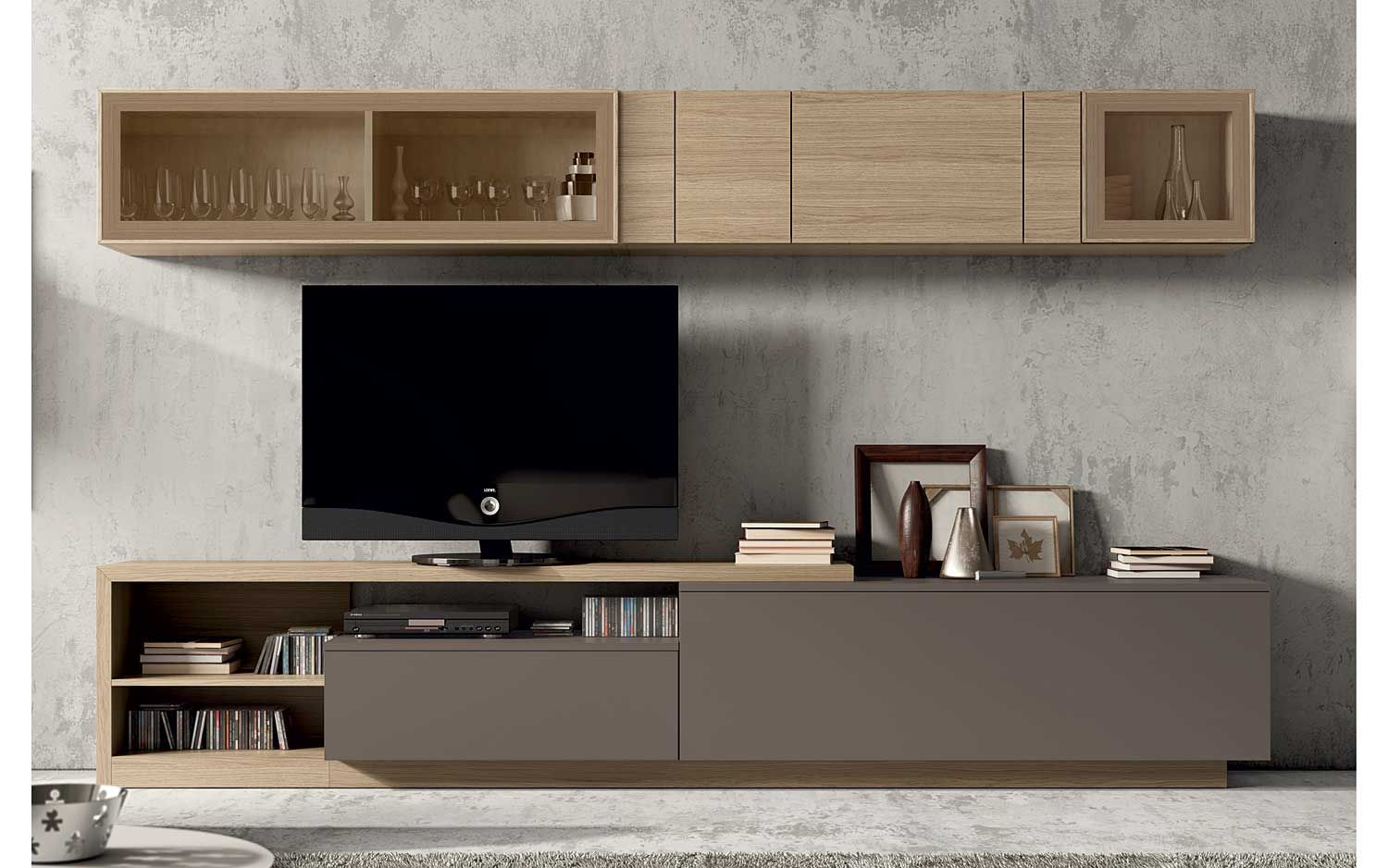 Dm Muebles Salon Escandinavo Nordik 6 Material Dm Densidad Media Dm