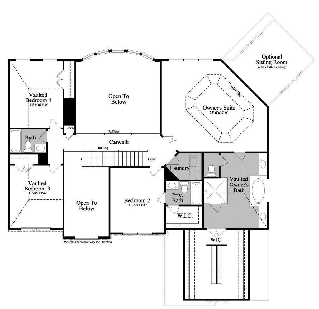 Rosehill Iii Sharp Residential Floor Plans House Plans How To Plan