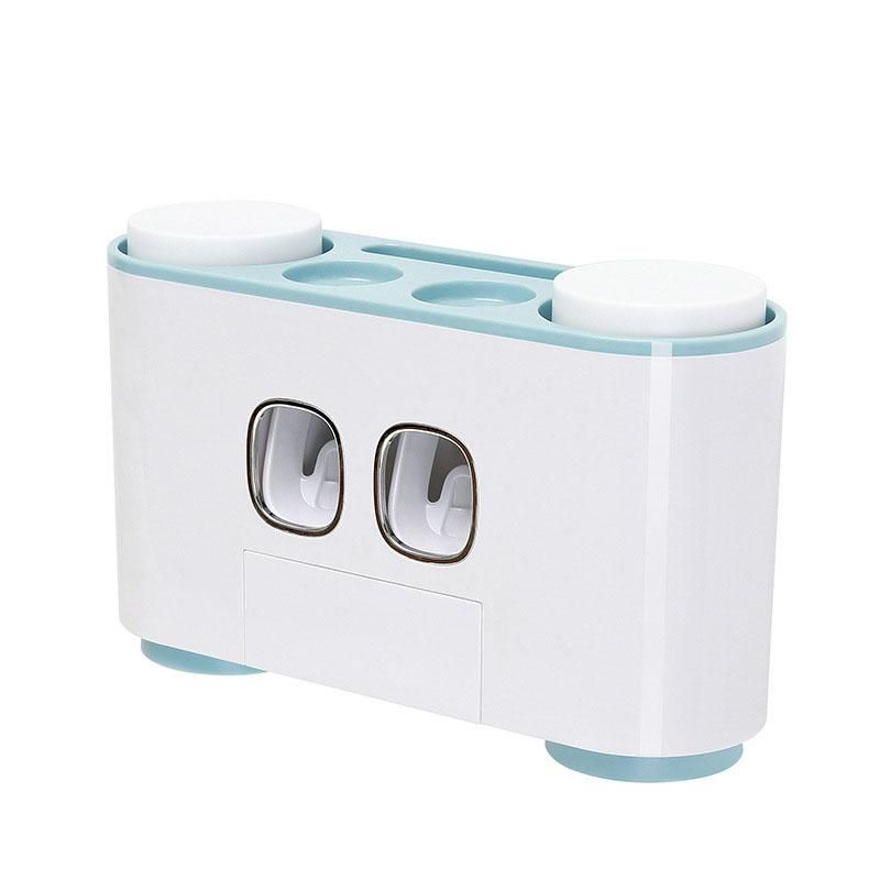 Photo of Automatic Wall Mounted Toothpaste Dispenser – Blue