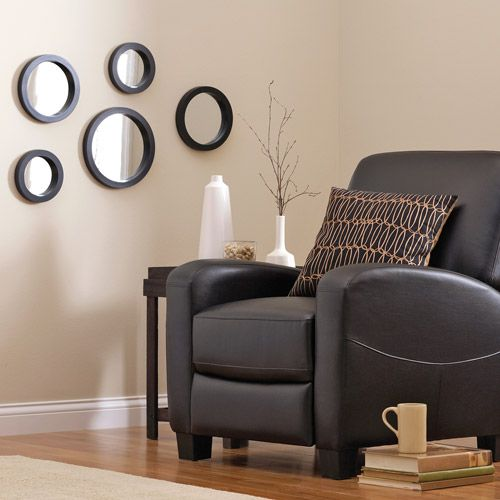 Hometrends 5pc Circle Mirror Set For Sunburst Mirrors Decoracao Casas Espelho