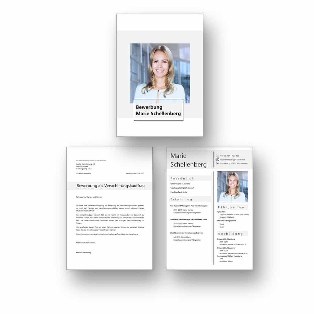 Ideal für Berufseinsteiger: Download Bewerbungsvorlage mit ...