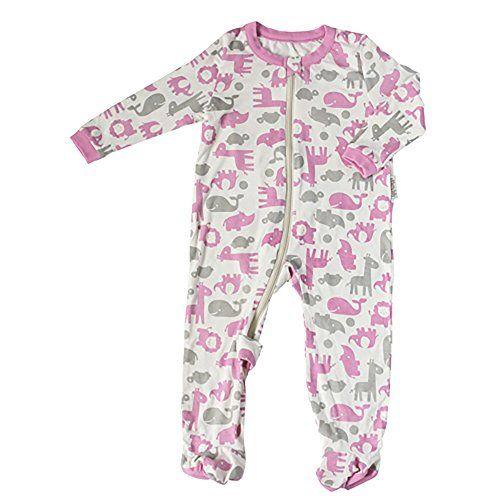 68ec4bc6e Silkberry Baby Bamboo UnisexBaby Newborn Footie Sleeper -- For more ...