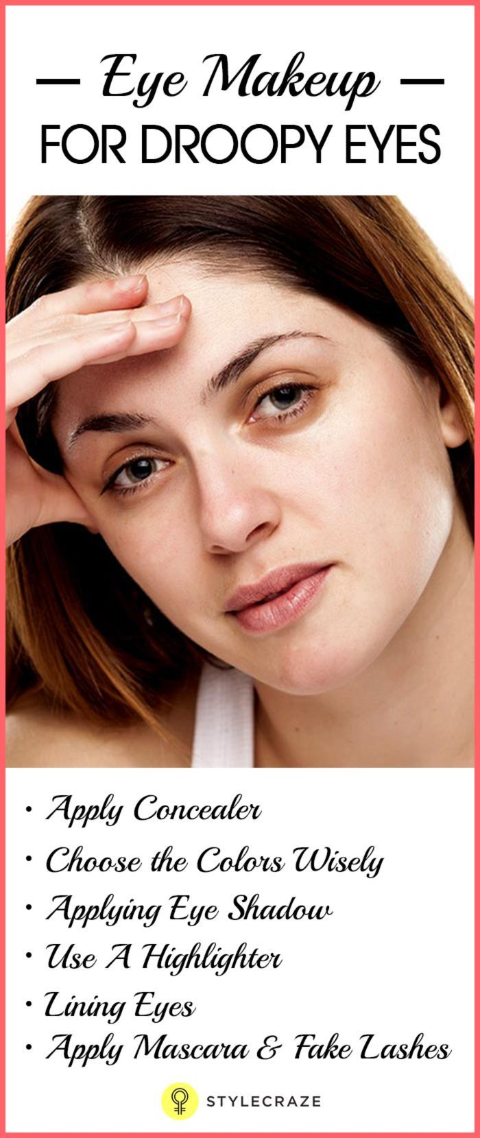 Eye Makeup for Droopy Eyes Droopy eyes, Droopy eye