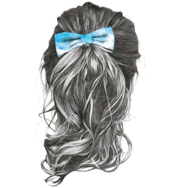 Bonito y sencillo peinados dibujo Colección de cortes de pelo estilo - Imagen sobre Dibujos de peinados de Vale en My Polyvore ...