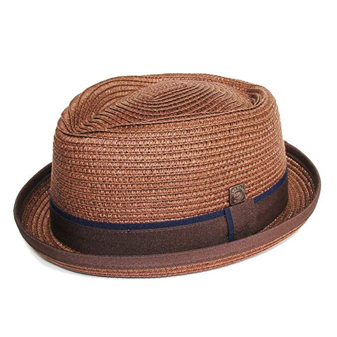 Dasmarca Mens Summer Pork Pie Straw Hat - Durban Review  61a8387315e