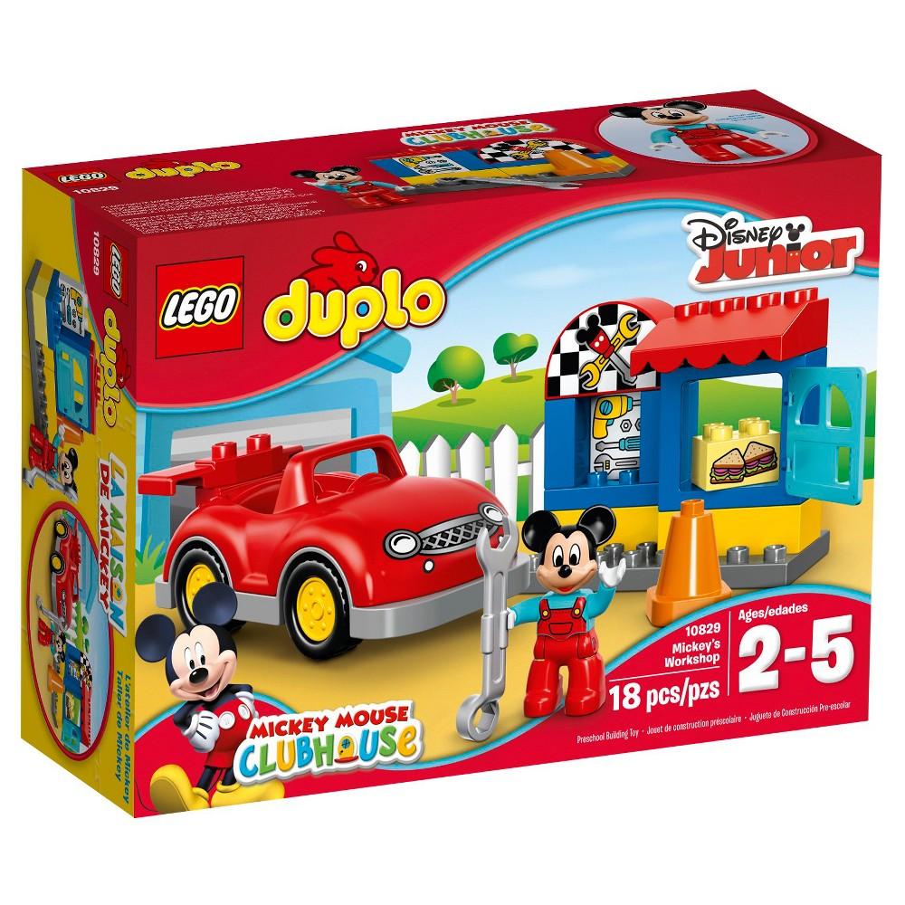 Lego Duplo Disney Mickey S Workshop 10829 Lego Duplo Lego Toy Store