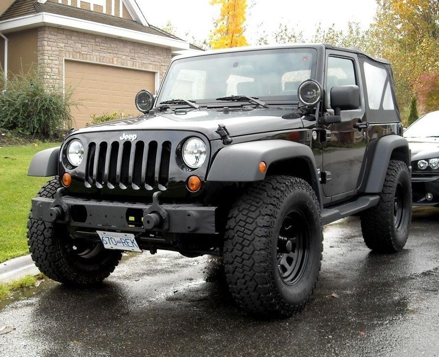 Show your black wheels!!!!! - JKowners.com : Jeep Wrangler