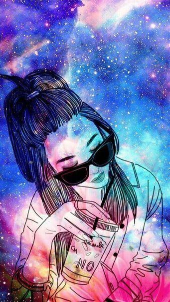 Pin De Amandamfd Em Galaxia Com Imagens Desenhos De Bonecas