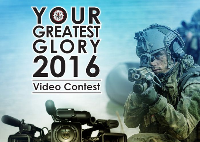 Your Greatest Glory Video Contest 2016