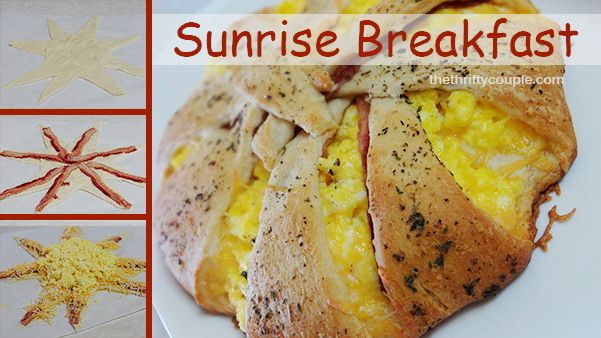 Fun and Easy Sunrise Breakfast: Complete Breakfast in One with Crescent Rolls