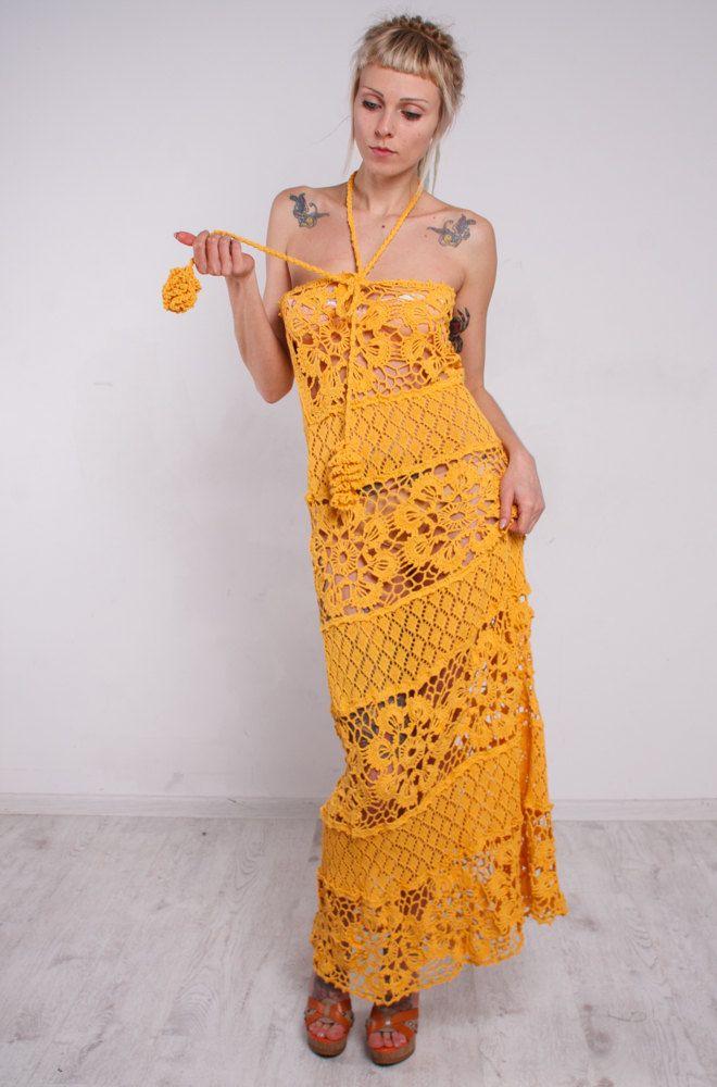 Handmade Crochet Dress