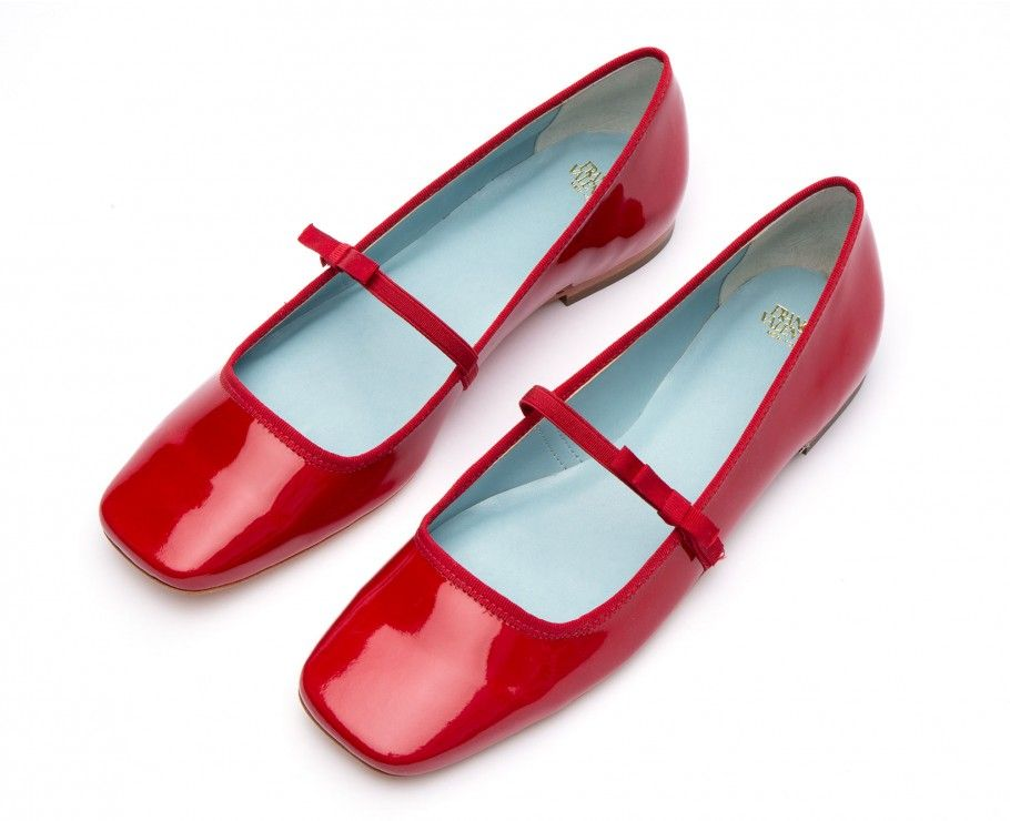 46dac0970 Jude Mary Jane Flats Red Patent | i want or to give in 2019 ...