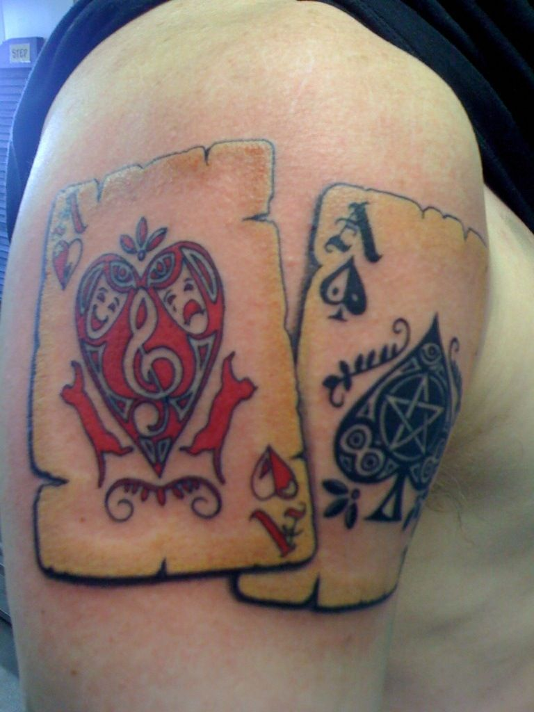 26+ Stunning Ace spade tattoo meaning ideas in 2021