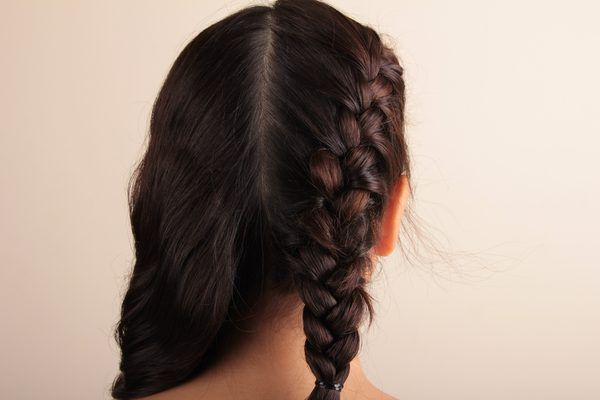 How to make two french braids by yourself french braid hair style a french braid is a classic hairstyle worn by women of all hair types and lengths women can create formal styles with french braids or use french braids solutioingenieria Gallery