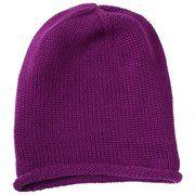 Soft Slouchy Hat Plum