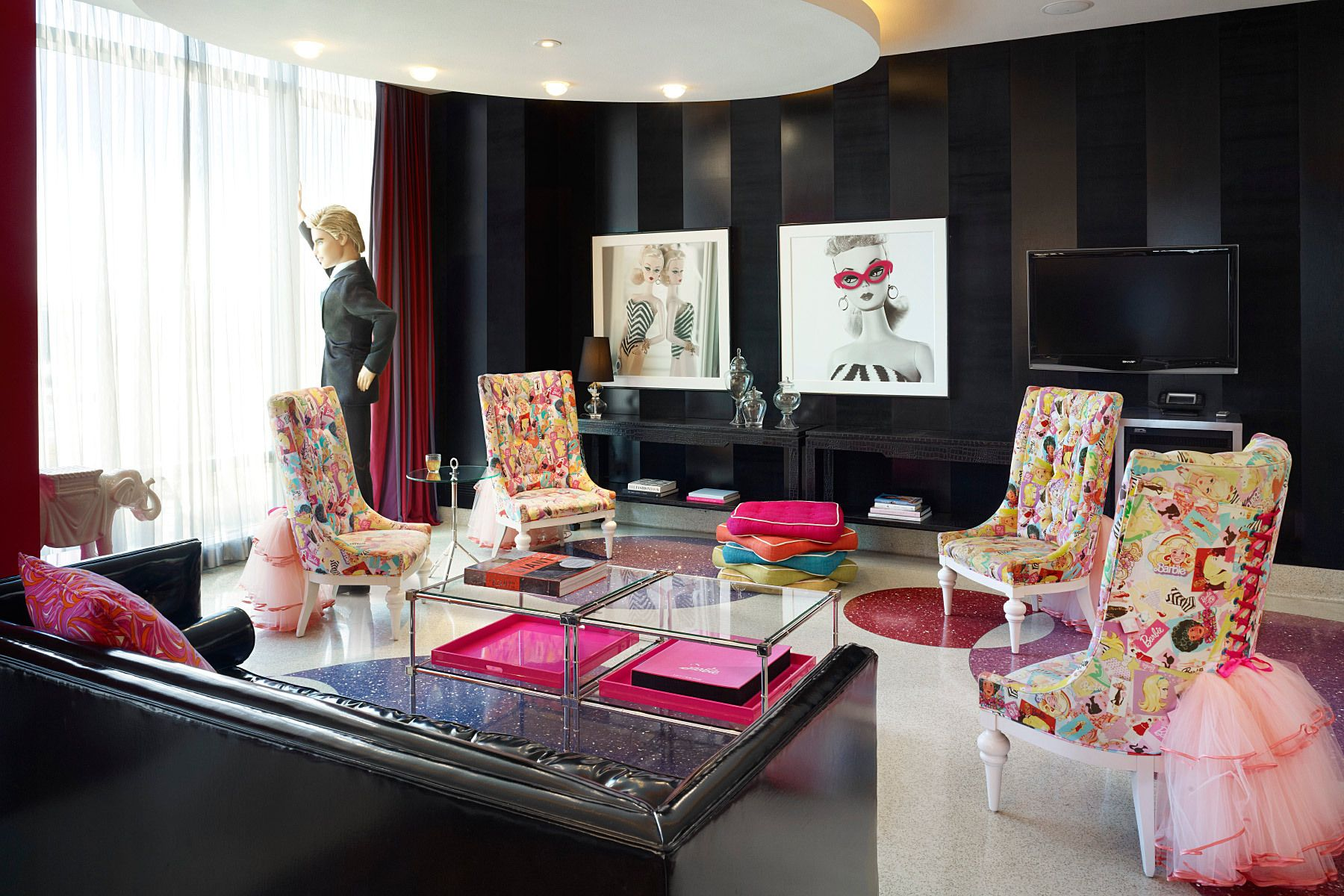55 and over living in las vegas - The Barbie Suite At The Palms In Las Vegas