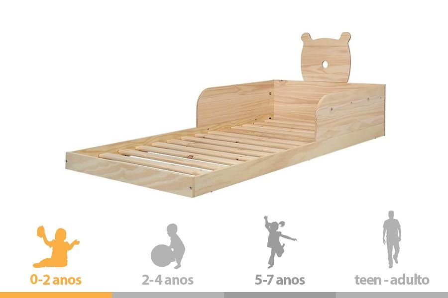 Por ser adapt vel essa cama montessoriana come ar desde - Cama para nino de 2 anos ...