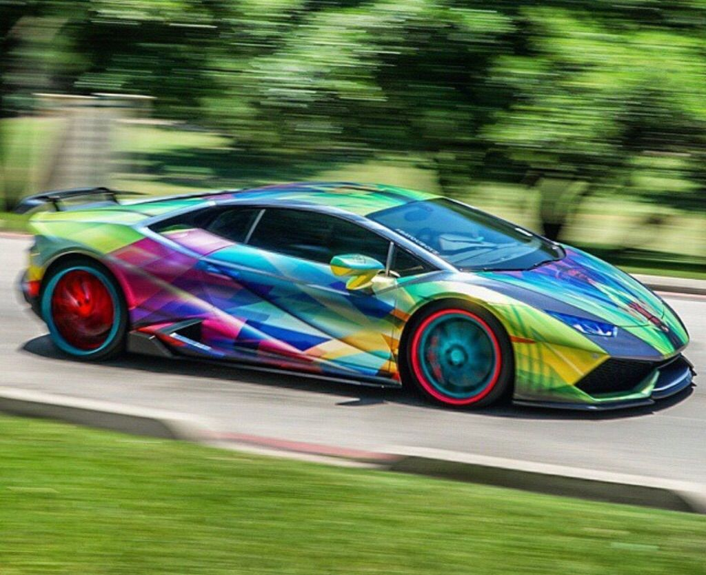 Rainbow Lamborghini Www Pixshark Com Images Galleries