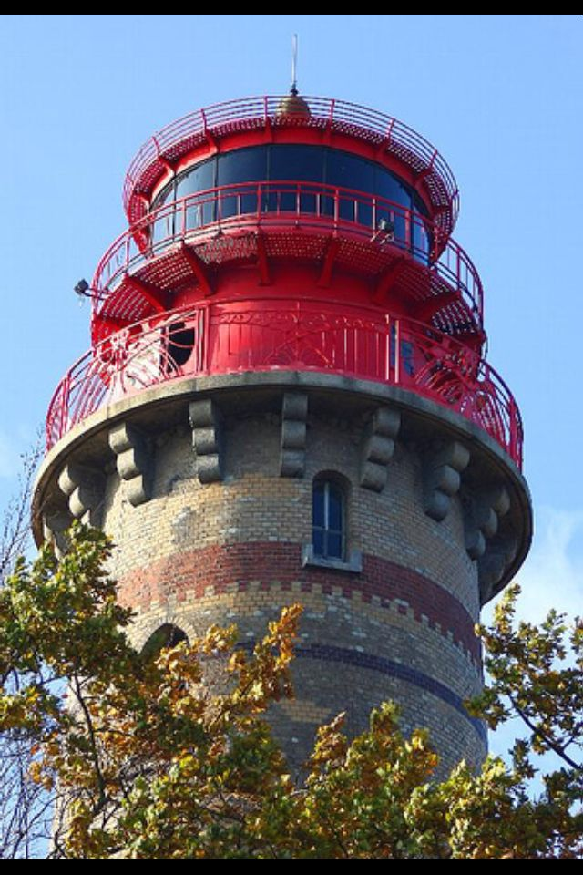 The New Lighthouse at the North-East end of Germany, on the Island Of Rugen