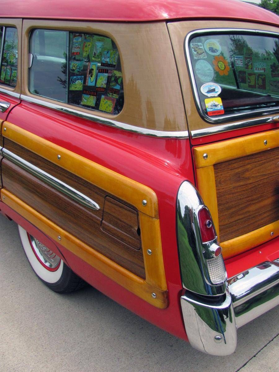 1953 mercury monterey station wagon woodie woody overdrive for sale hemmings motor news