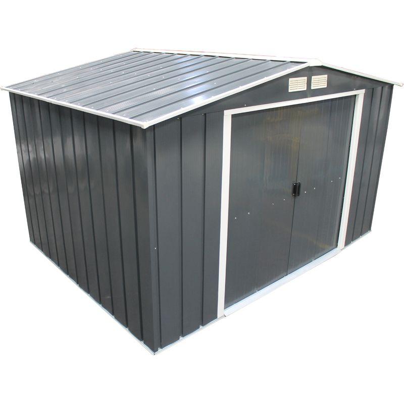 Duramax Abri De Jardin En Metal Vert Pin 6 31 M2 Duvp88pr