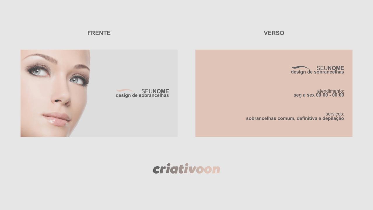 Muito cartão de visita designer de sobrancelhas … | etc | Pinterest  WL95