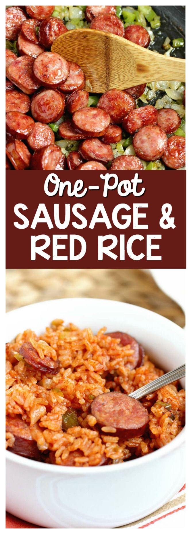 Photo of One-Pot Sausage and Red Rice