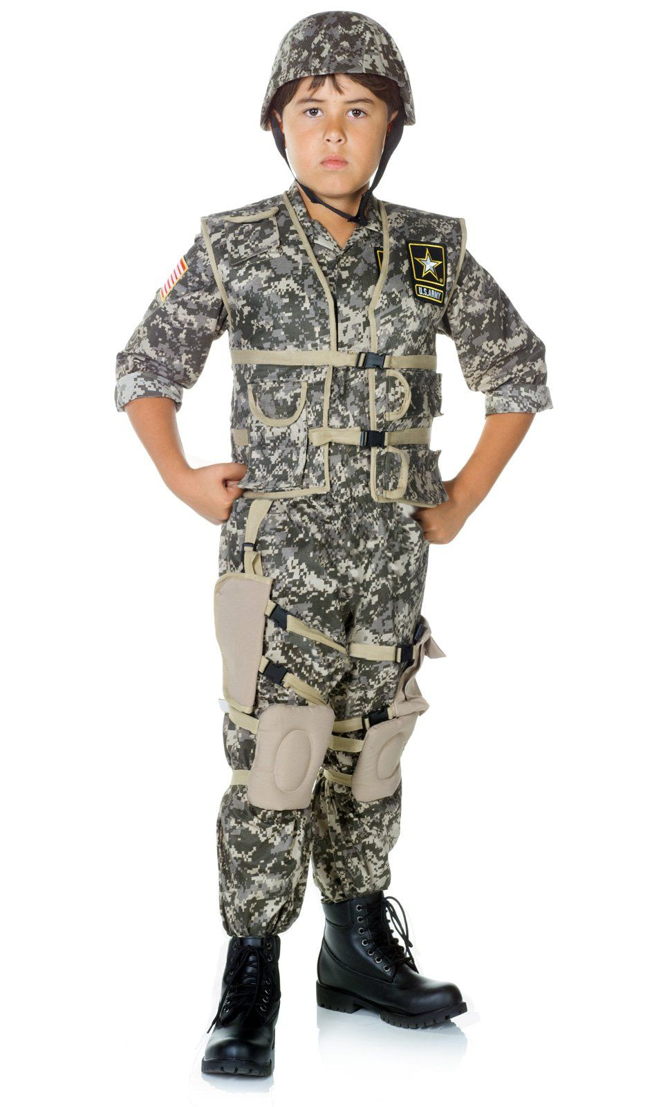 Army Combat Muscle Chest Shirt Set Kiddos Us army