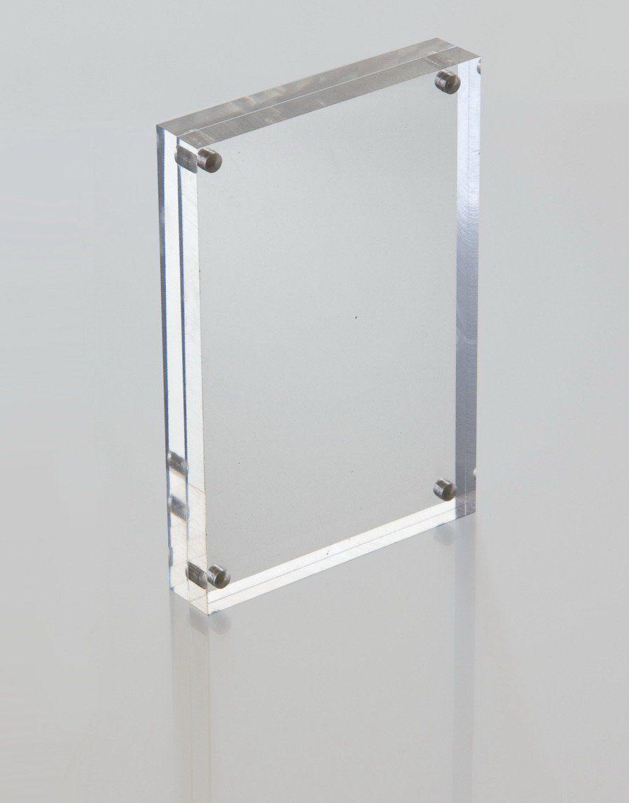 Acrylic Magnetic Photo Block | Acrylic Online | Interior Signage ...