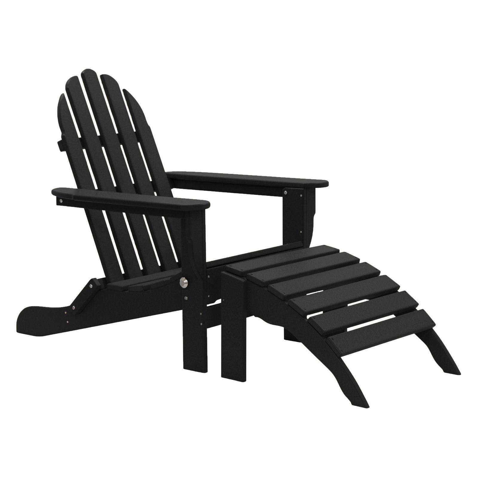 Outdoor Durogreen Recycled Plastic 2 Piece The Adirondack Chair