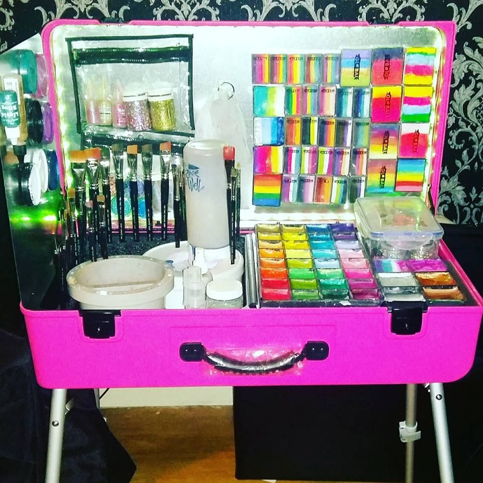 I Love My New Face Painting Kit Which Is A Pink Craft N Go Paint