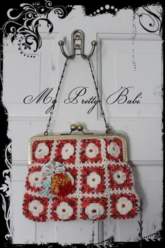 Crochet Bag - Bags and Purses - Crochet Purse - Free Shipping