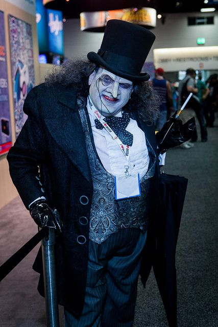 Batman The Penguin (Tim Burton vers) at SDCC 2013 #cosplay #batman & San Diego Comic-Con 2013-8711 | Penguins Cosplay and Batman