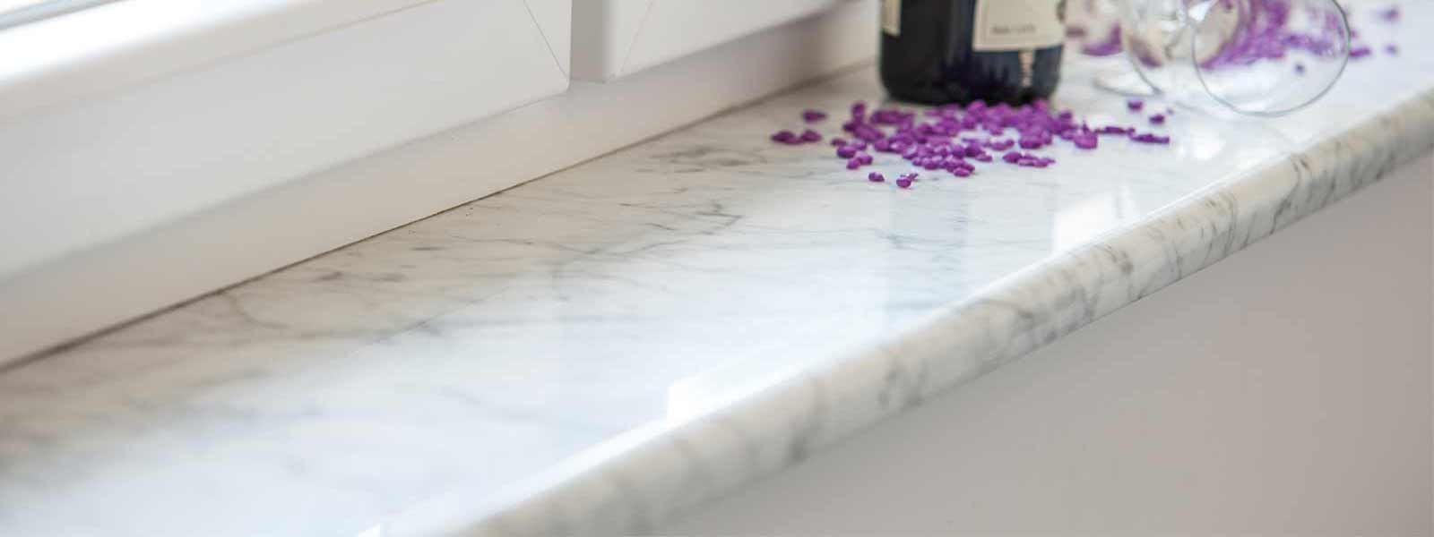 Fensterbank Granit oder Marmor vom Steinmetz | Klepfer Naturstein ...