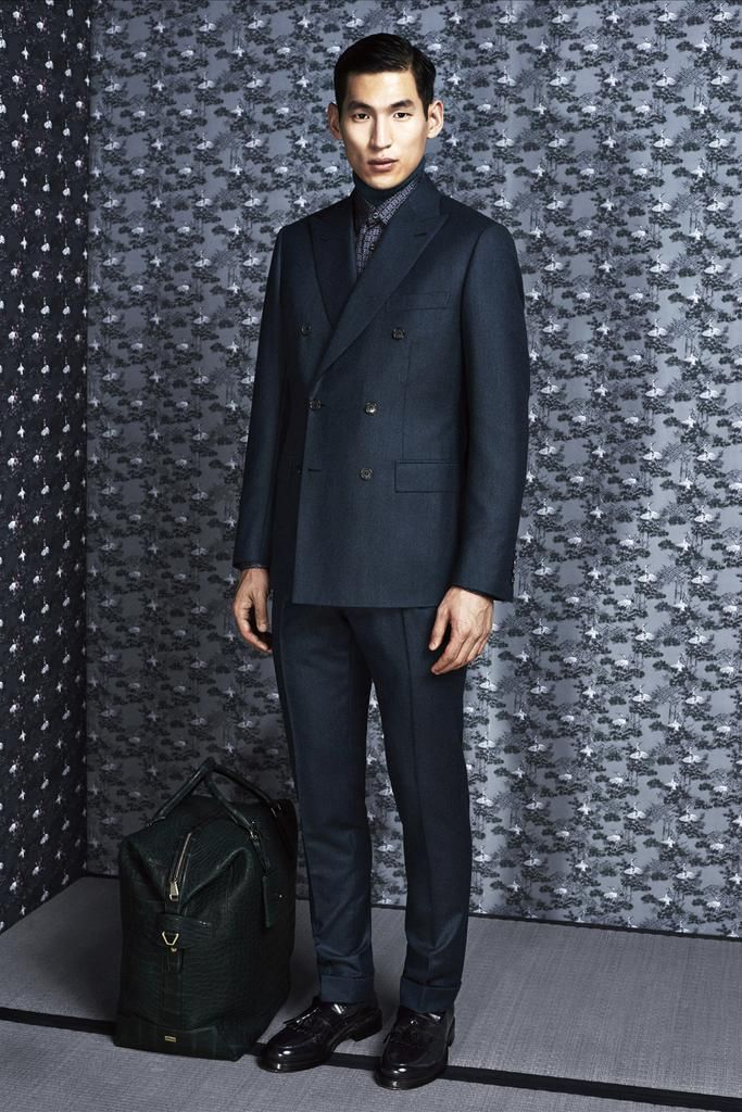 Amazing bag. Brioni Fall 2014 Menswear - Collection