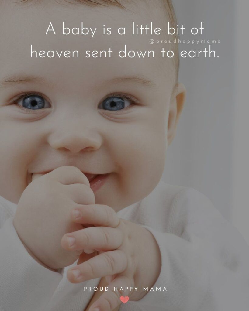 100 Sweet New Baby Quotes And Sayings With Images New Baby Quotes Baby Quotes Inspirational Baby Quotes