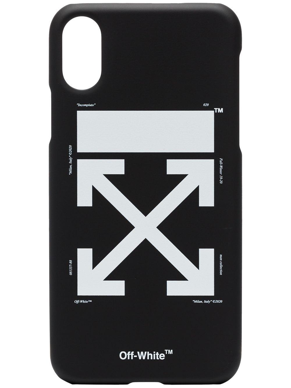 Off White Off White Black White Arrow Iphone X Case Logo Off White
