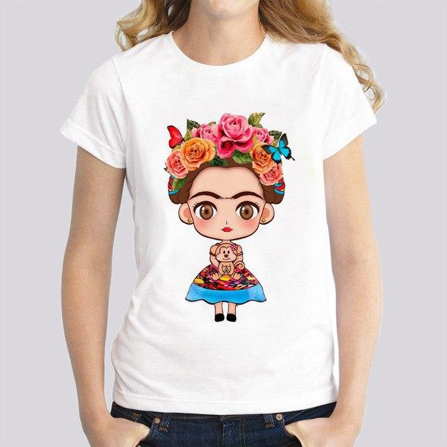 Graphic Frida Tshirt Love Mexican Lottery Gifts Unisex T-Shirt Kahlo Quotes